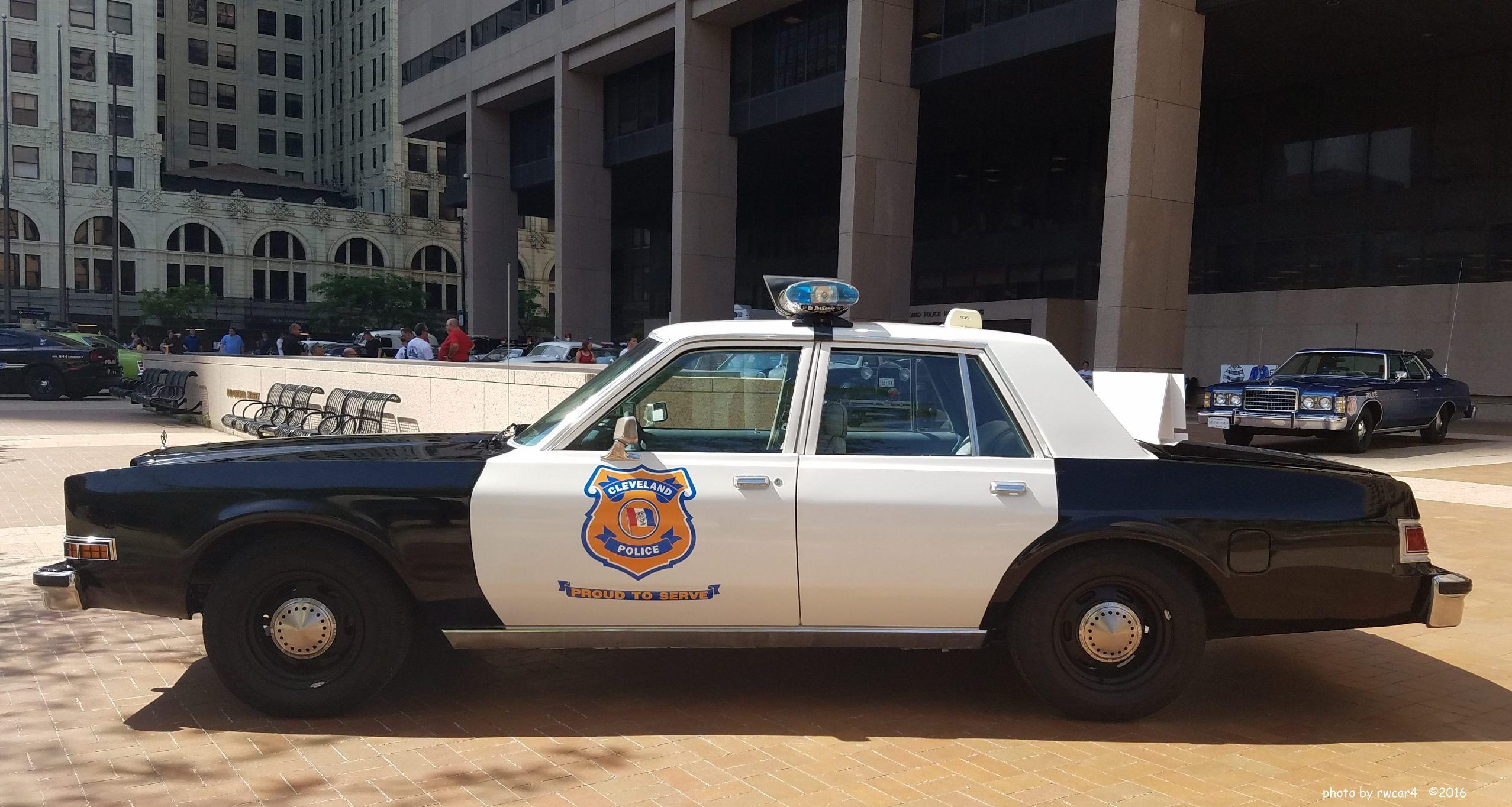 Cleveland Police 1988 Dodge Diplomat Police Cars Cleveland Police Police