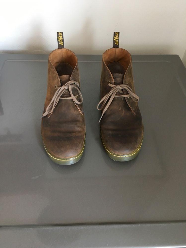 Dr. Martens Cabrillo Men's Shoes Gaucho Crazy Horse | Boots