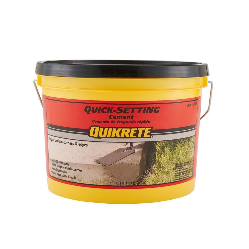 Quikrete 10 Lb Quick Setting Cement Concrete Mix 124011 Cement Concrete Mixes Concrete