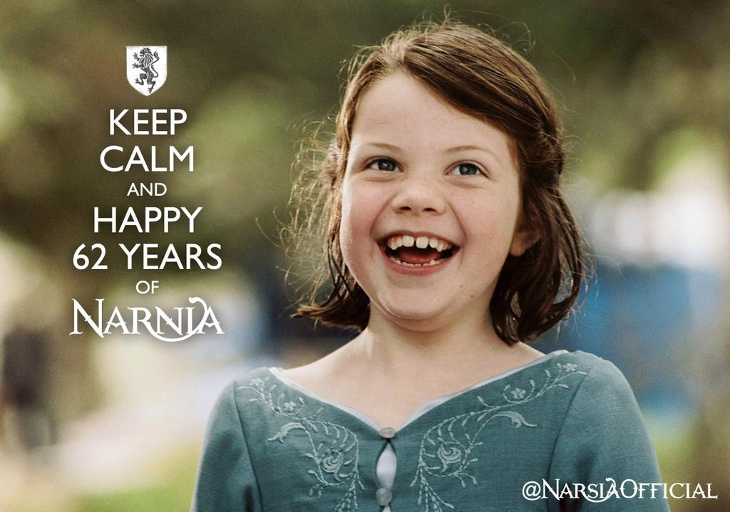Keep Calm and Happy 62 Years of Narnia!!