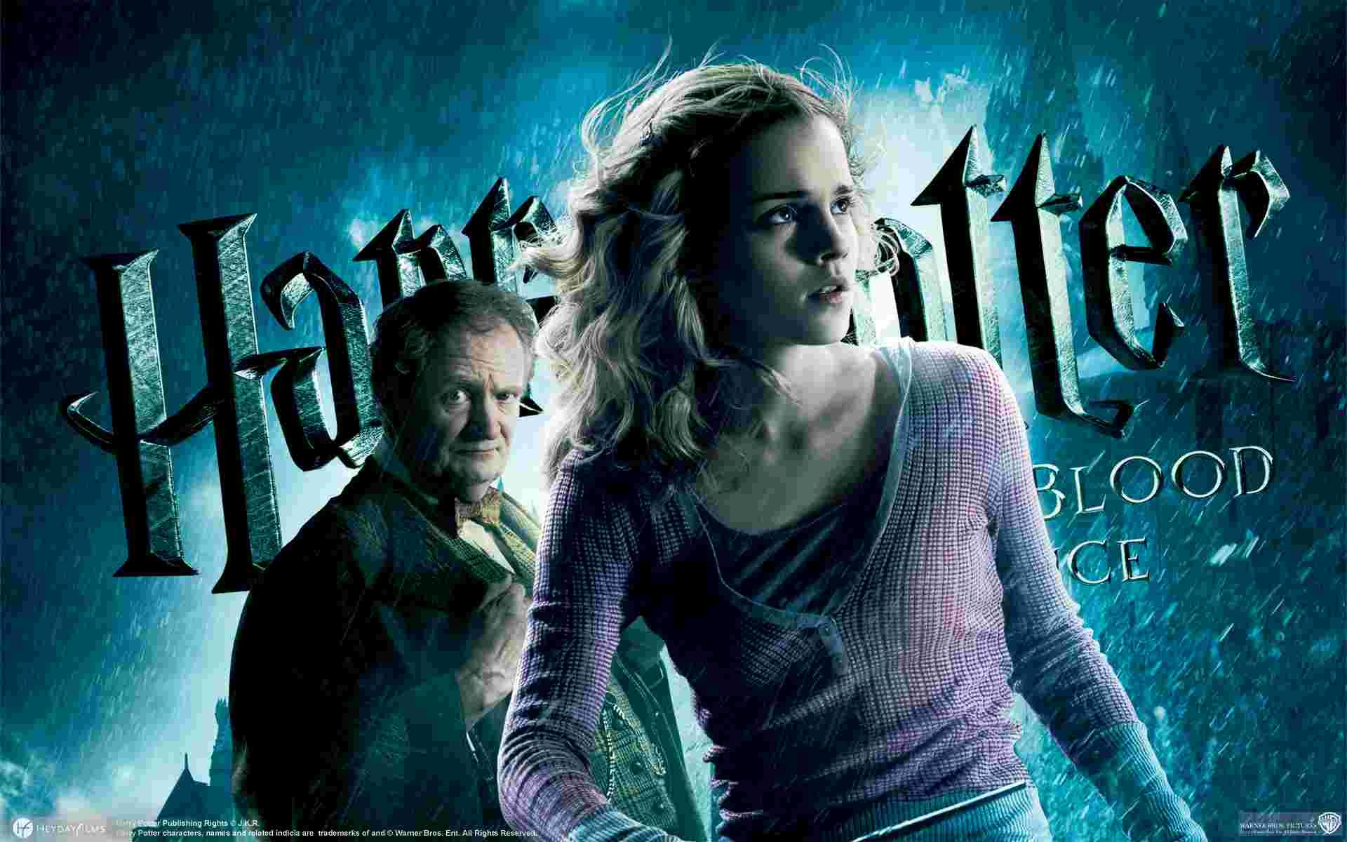 emma watson in harry potter and the halfblood prince wallpaper | 3d