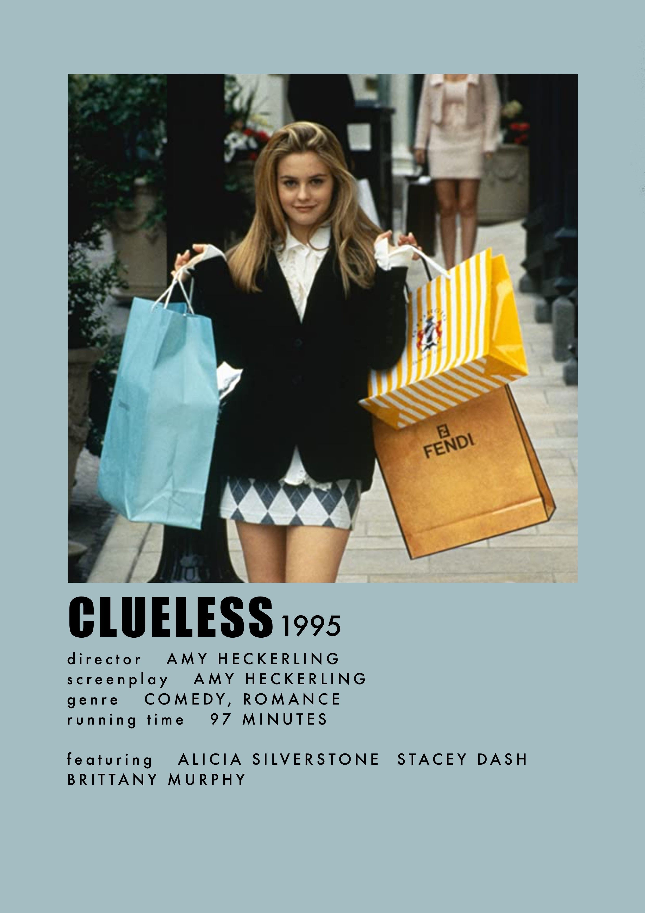 Clueless Movie Poster