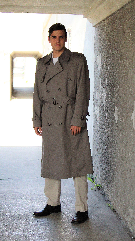 Trench Coat Men London Fog 40 Short Trench Coat London | Etsy | Trench coat  men, Trench coat, Mens coats