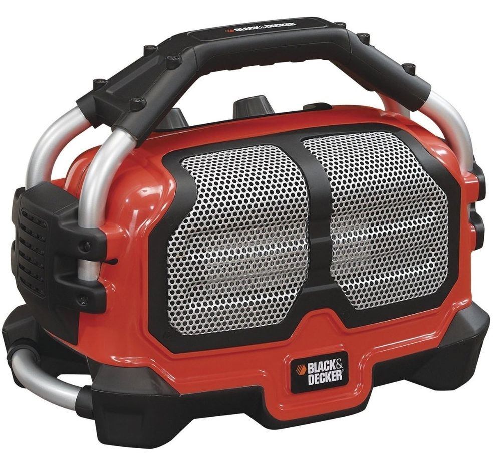black & decker lightweight portable radiant space heater for