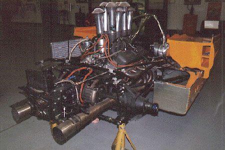 1971 McLaren Chevrolet Engine | Race Engines & Cutaways ...