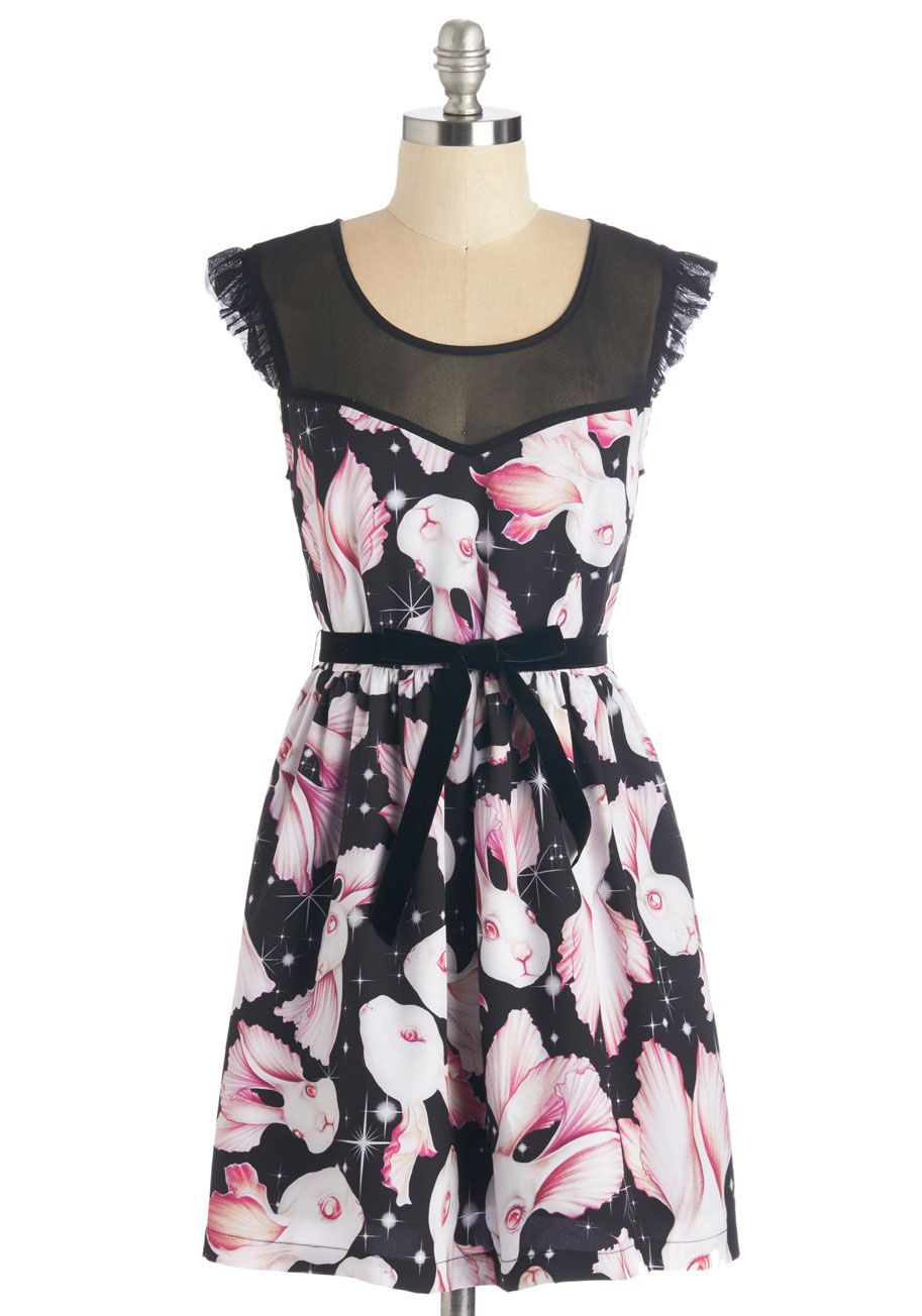 c67aff580ec Ain t That Fantastical Dress. Let your sense of style run as wild as your  imagination in this printed dress!  multi  modcloth