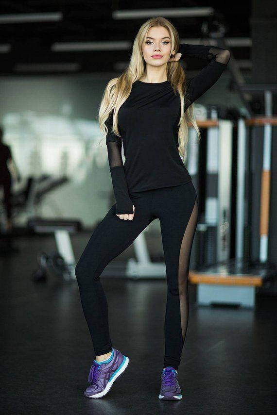 1aa1843919 Set Rainbow, leggings top, yoga set, Workout set, women's clothing, Woman  outfit, Workout leggings,