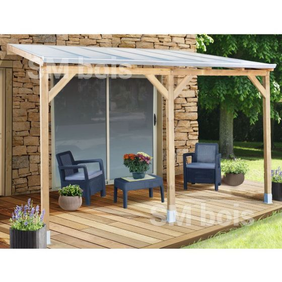 Le toit terrasse bois adossée est une solution idéale pour protéger