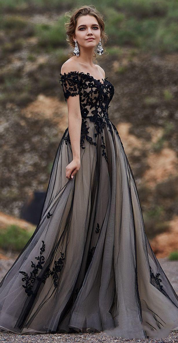 Schatz mit kurzen Ärmeln Abendkleid, A-Linie Tüll Applikationen Abendkleid