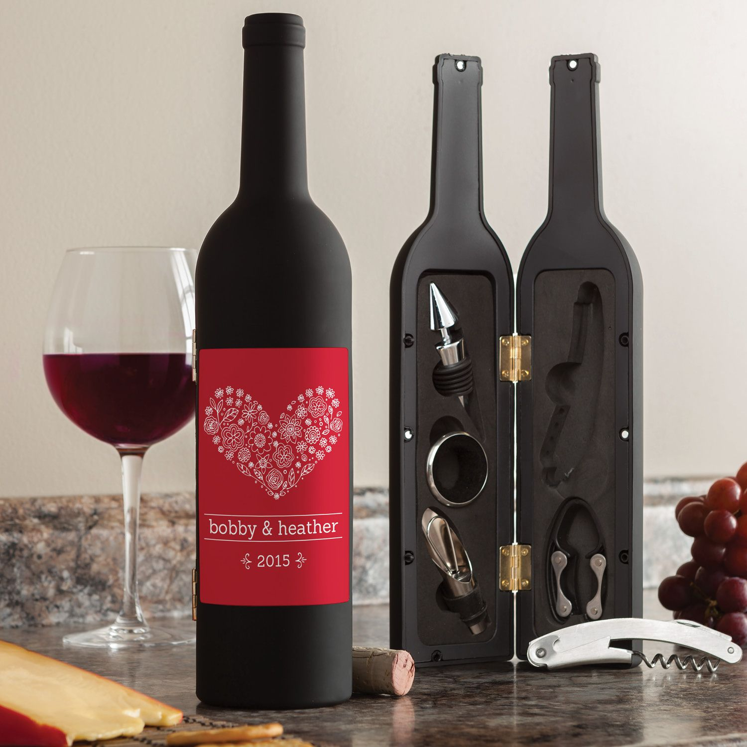The Perfect Couple Personalized Wine Kit For The Couple Wedding Personalized Planet Wine Kits Wine Gifts Wine Making Kits