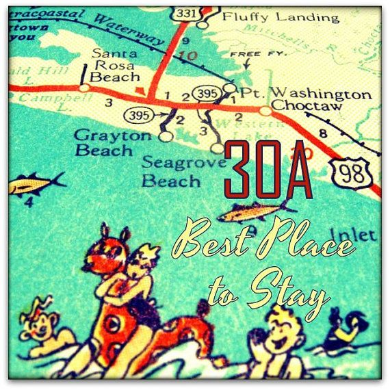 Seaside Florida Map.Art Map Seaside Florida 30a Pictures Www Picturesboss Com