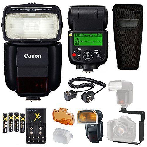 Canon Speedlite 430ex Iiirt Flash Canon Speedlite Case 4 High Capacity Aa Rechargeable Batteries And Rechargeable Batteries Video Camera Photo Camera Flashes