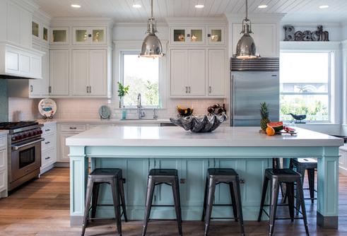 65 Beach Kitchen Ideas Beachfront Decor Beach Theme Kitchen Beach House Kitchens Coastal Kitchen Design