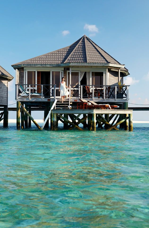Kuredu Island Resort & Spa - Sangu Water Villas - kahden hengen huone