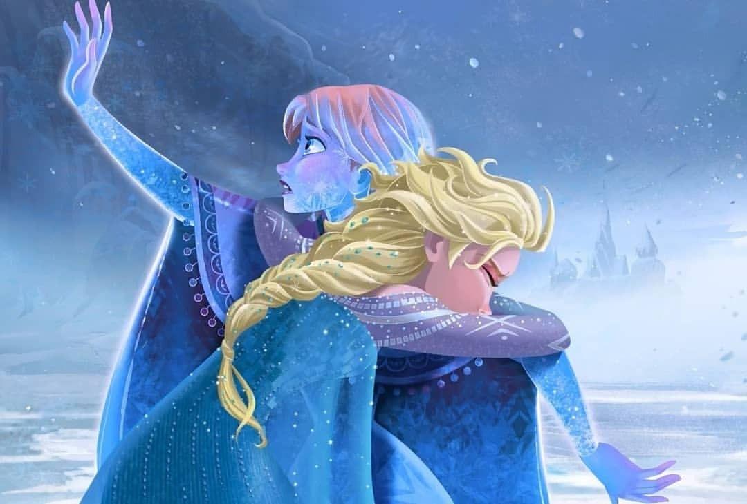 Картинки холодного сердце эльза и анна