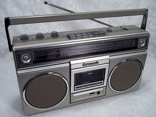 Sold Vtg 1980s PANASONIC Stereo Radio Cassette Recorder RX