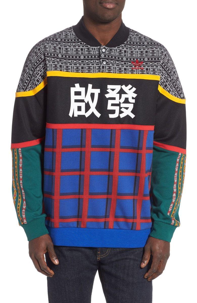 Adidas Originals X Pharrell Williams Solar Hu Pullover Sweatshirt Nordstrom Sweatshirts Pullover Designs Pharrell Williams [ 1196 x 780 Pixel ]