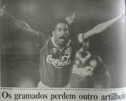 Gérson, morreu cedo, grande passagem pelo Inter.