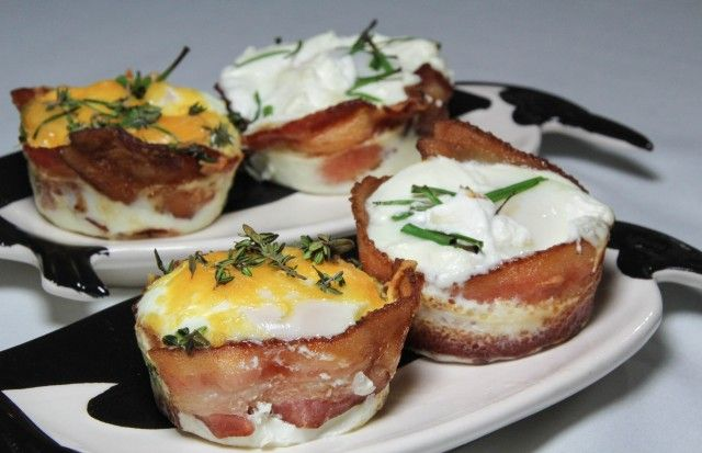 Recipe: How to make amazing Bacon-Wrapped Eggs for breakfast