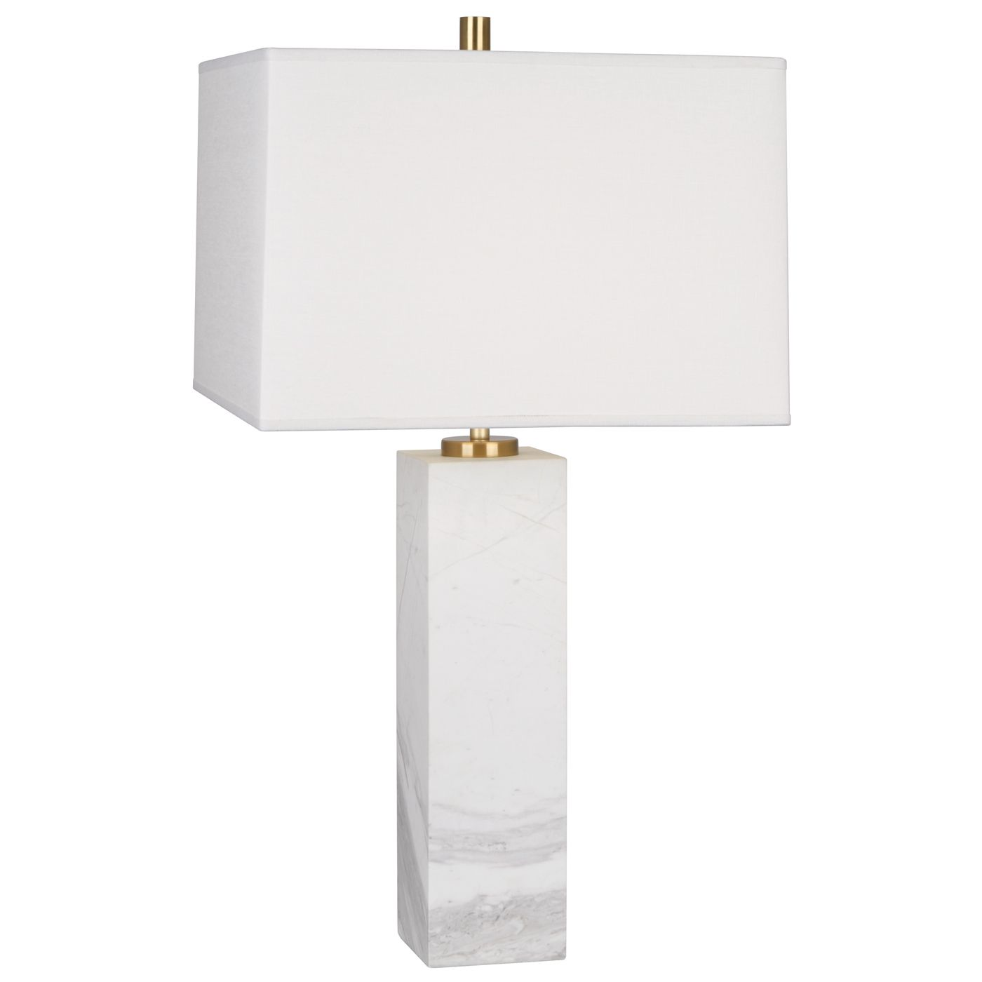 Monumental Modernism.Our solid marble Canaan Table Lamps create a ...