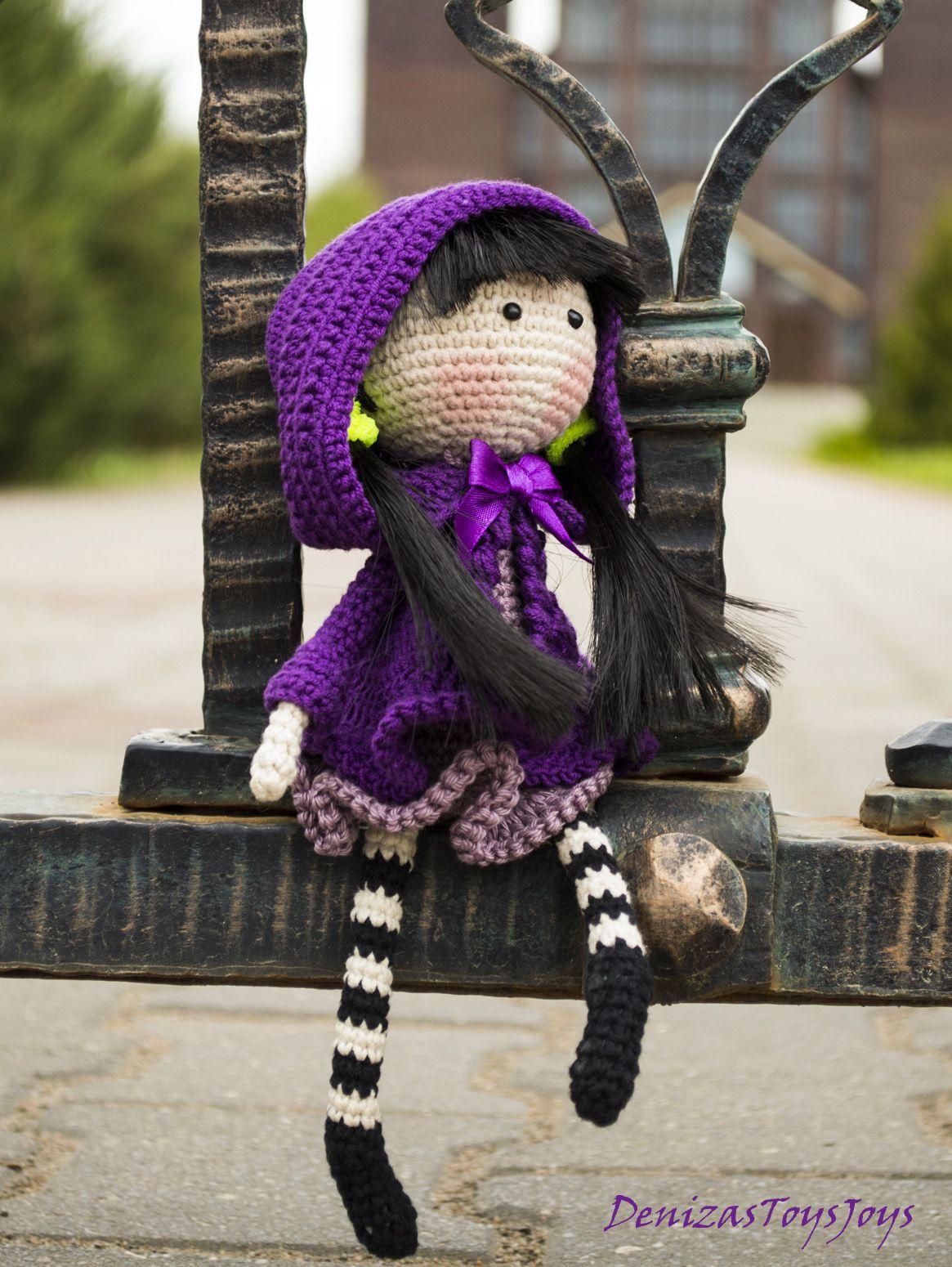 Muñequita al crochet. | Muñecos | Pinterest | Muñecas, Patrones de ...