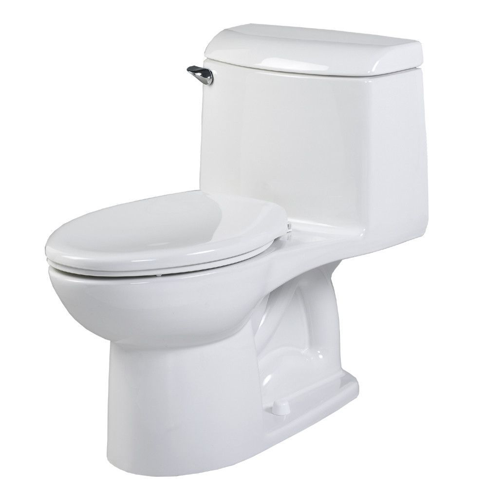 Champion 4 Right Height 1.6 GPF Elongated 1 Piece Toilet