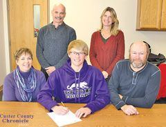 Custer High School Senior Shane Herman Signed A Letter Of Intent