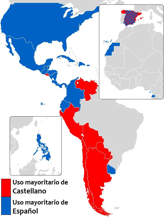 Spanish Language Latin
