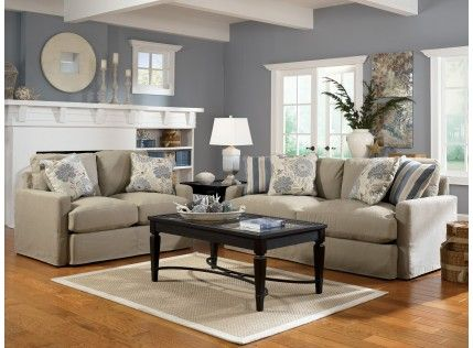 Addison Khaki Sofa | Living Room Sets, Cottage Style Furniture, Living Room Collections