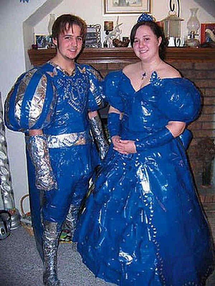 20 Of The Funniest Prom Couples Ever Captured On Camera -   16 dress Prom ugly ideas