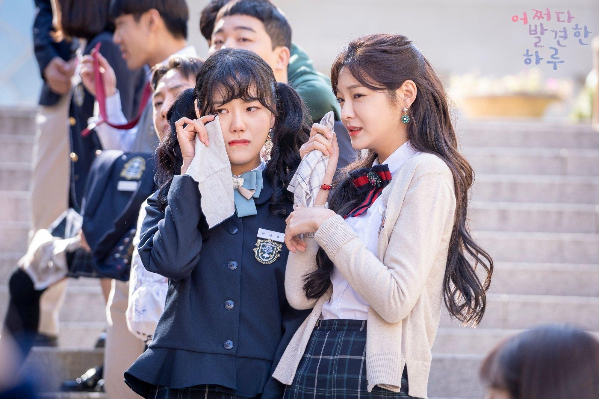 Pin Oleh Rosario M Esmurria Torres Di Extraordinary You Korea Kim Seragam Sekolah