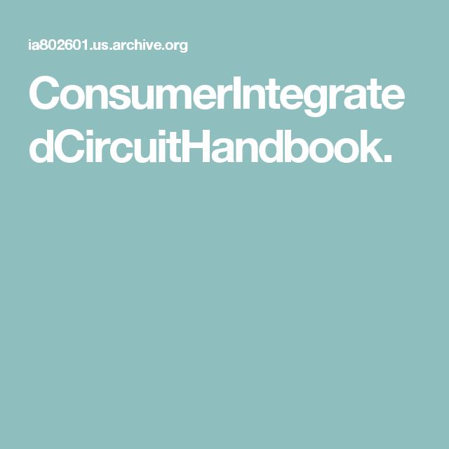 ConsumerIntegratedCircuitHandbook.