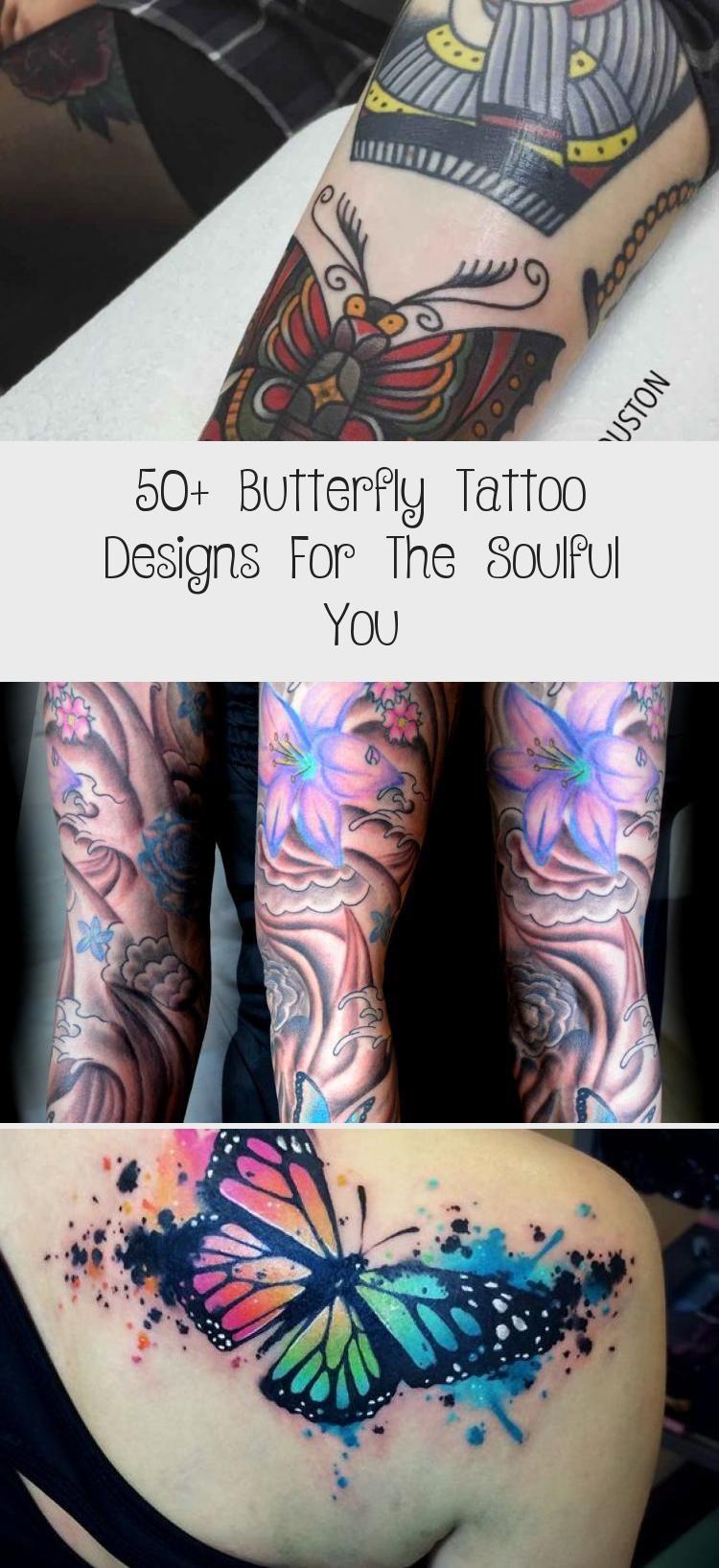 Photo of 50+ Schmetterling Tattoo Designs für die Soulful You – Tattoo Blog