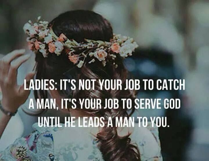 For you, ladies.