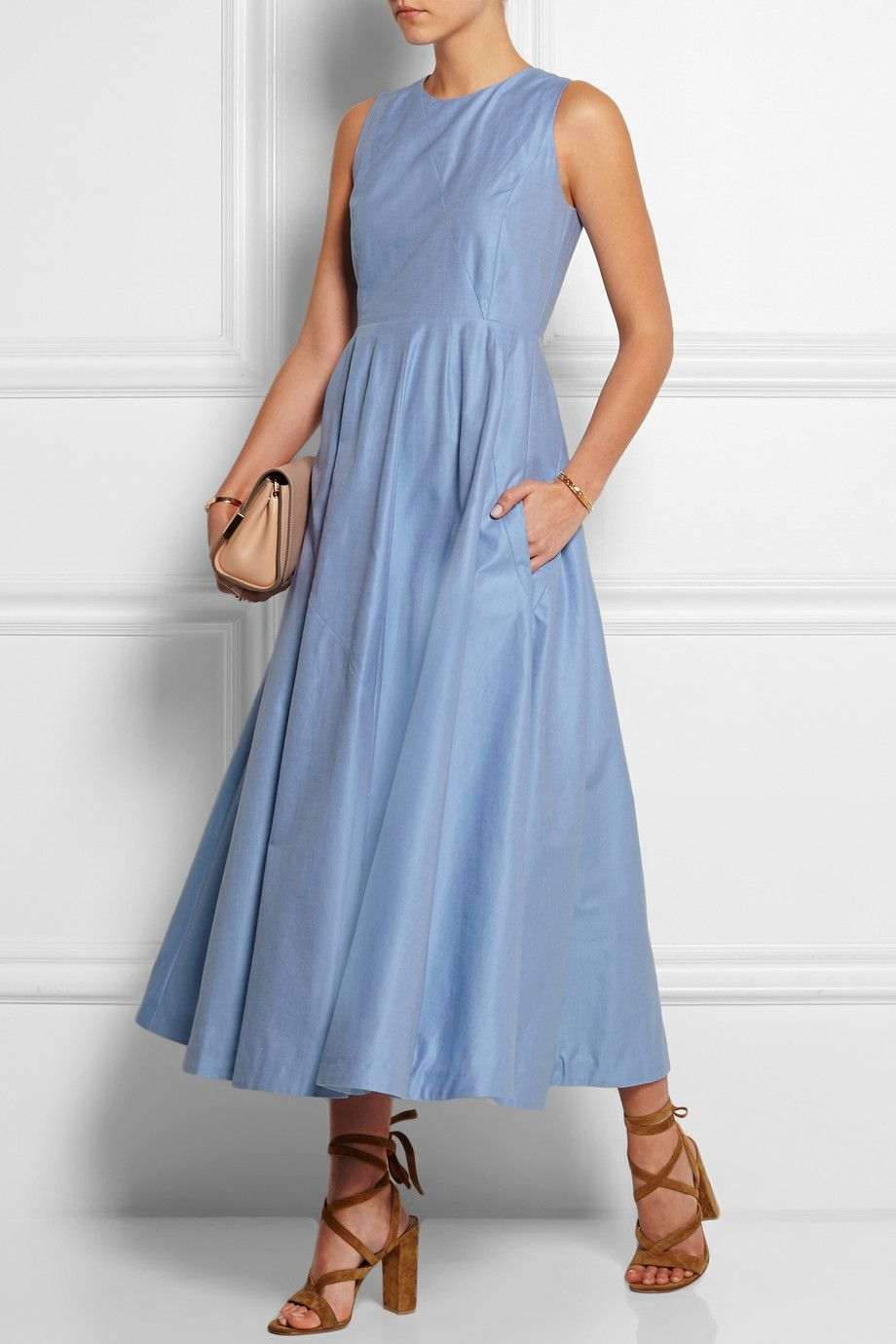 Merchant Archive | Cotton-twill dress | NET-A-PORTER.COM