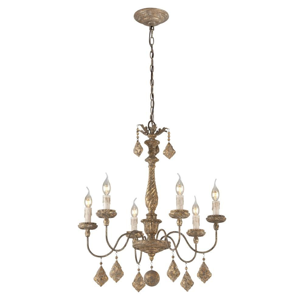 Troy lighting calais 6 light antique french gold chandelier gold troy lighting calais 6 light antique french gold chandelier arubaitofo Choice Image