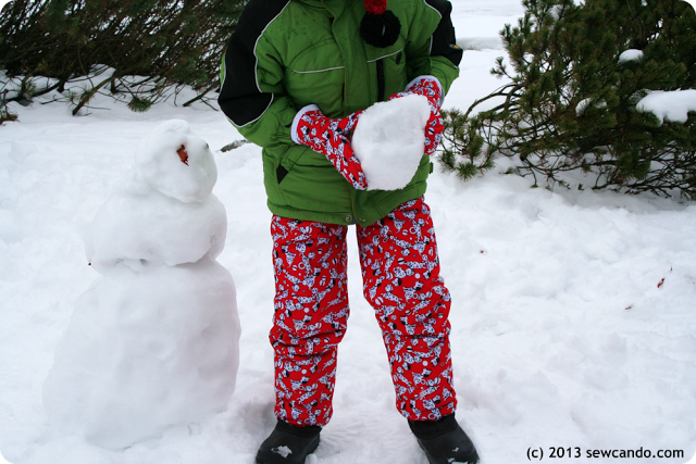 Sew Can Do: Make Your Own Snow Gear Part 2: Insulated Snow Mittens