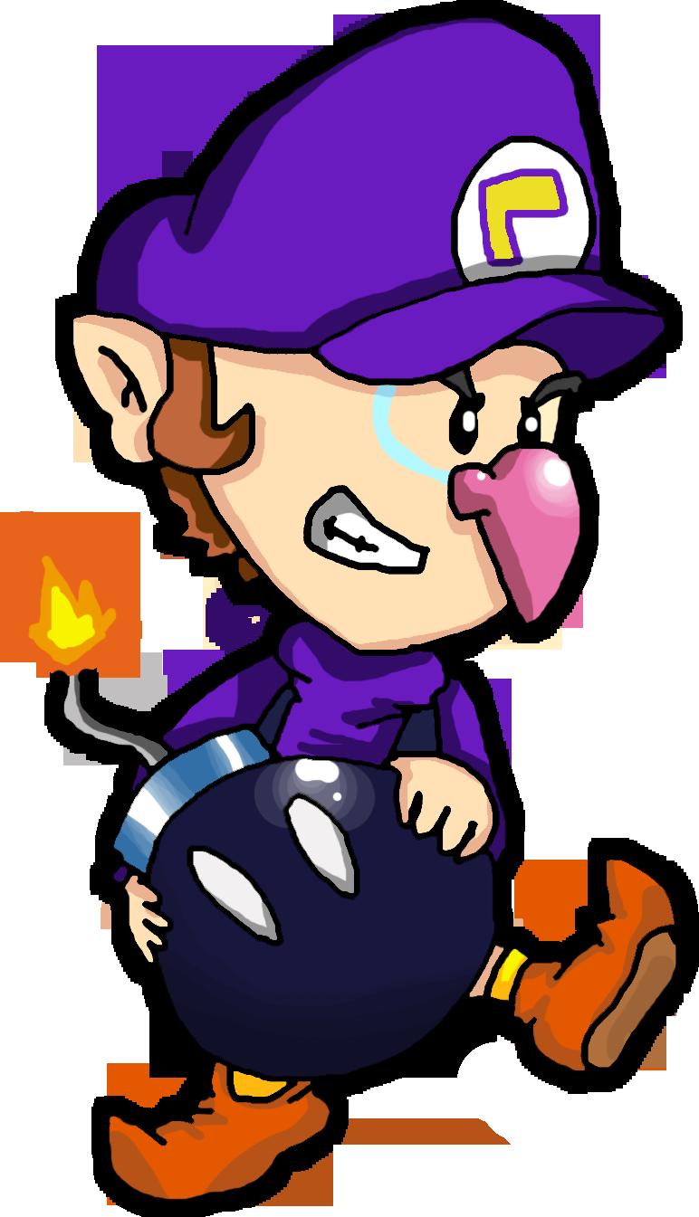 Baby Waluigi Luigi Mario