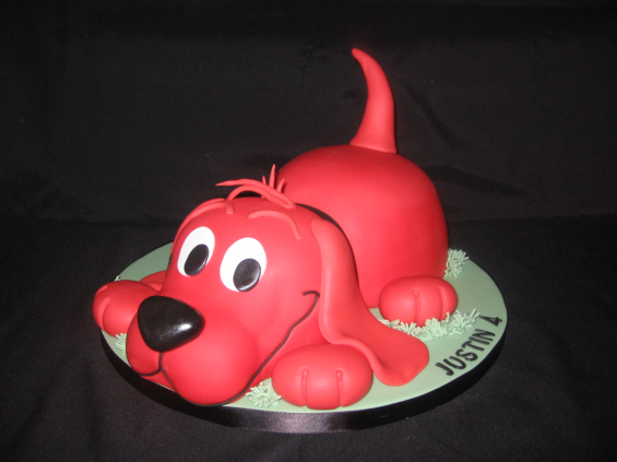 Clifford the Big Red Cake  :-)