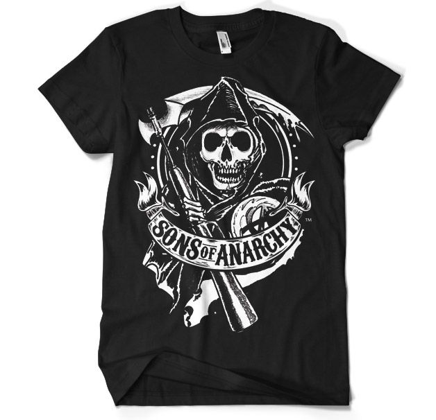 Sons Of Anarchy Scroll Reaper T Shirt Anarchy Shirts Sons Of Anarchy Reaper Sons Of Anarchy