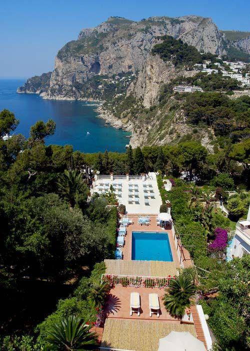 This one was fantastic too. Villa Brunella Capri Italy