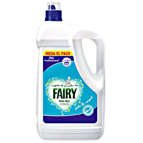 100 Wash Fairy Non Bio Laundry Liquid 5l Sensitive Stain Removal Cleaning Gel Fairy Laundry Liquid Cleaning Washing Laundry