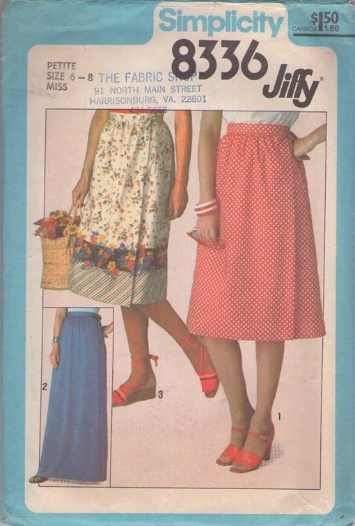MOMSPatterns Vintage Sewing Patterns - Simplicity 8336 Vintage 70\'s ...