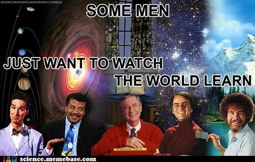Bill Nye Mr Rogers And Bob Ross Are Definatley The Best Funny Pictures Funny Memes Humor