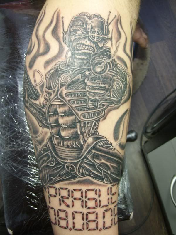 My Maiden Tattoo`s: - IRON MAIDEN DVD BOOTLEG`S Trading ...  |Iron Maiden Somewhere In Time Tattoo