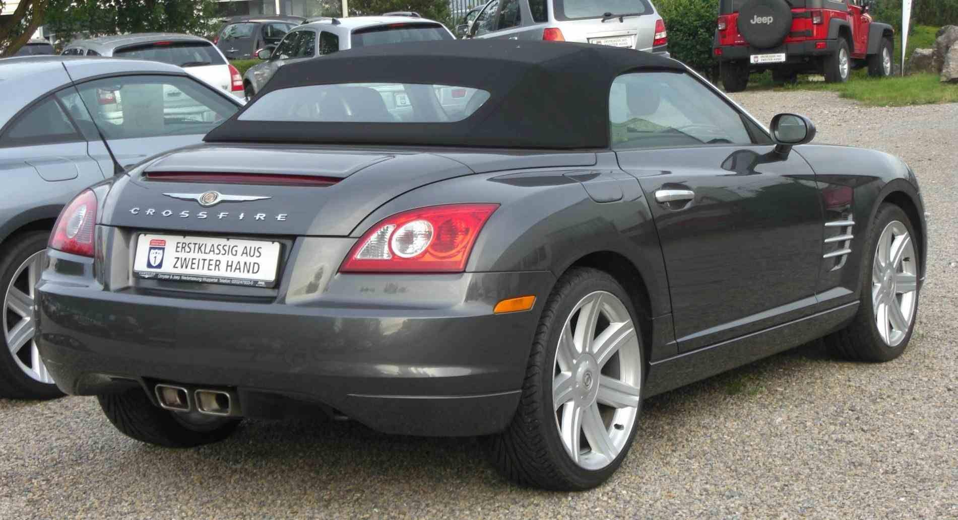 Pin On Chrysler Crossfire 2016 Black