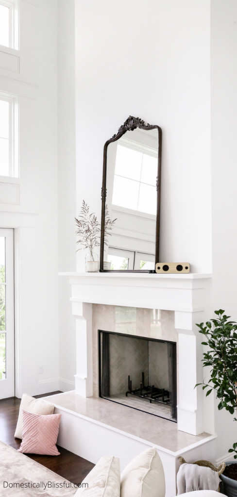 10 Oversized Mirrors You Will Love Fireplace Mirror Mirror Over Fireplace Above Fireplace Ideas