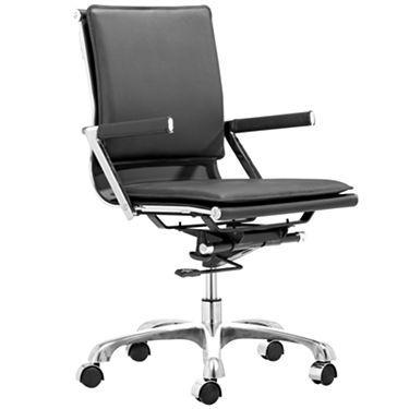 jcpenney desk chair folding kohls lider plus office black chairs pinterest window