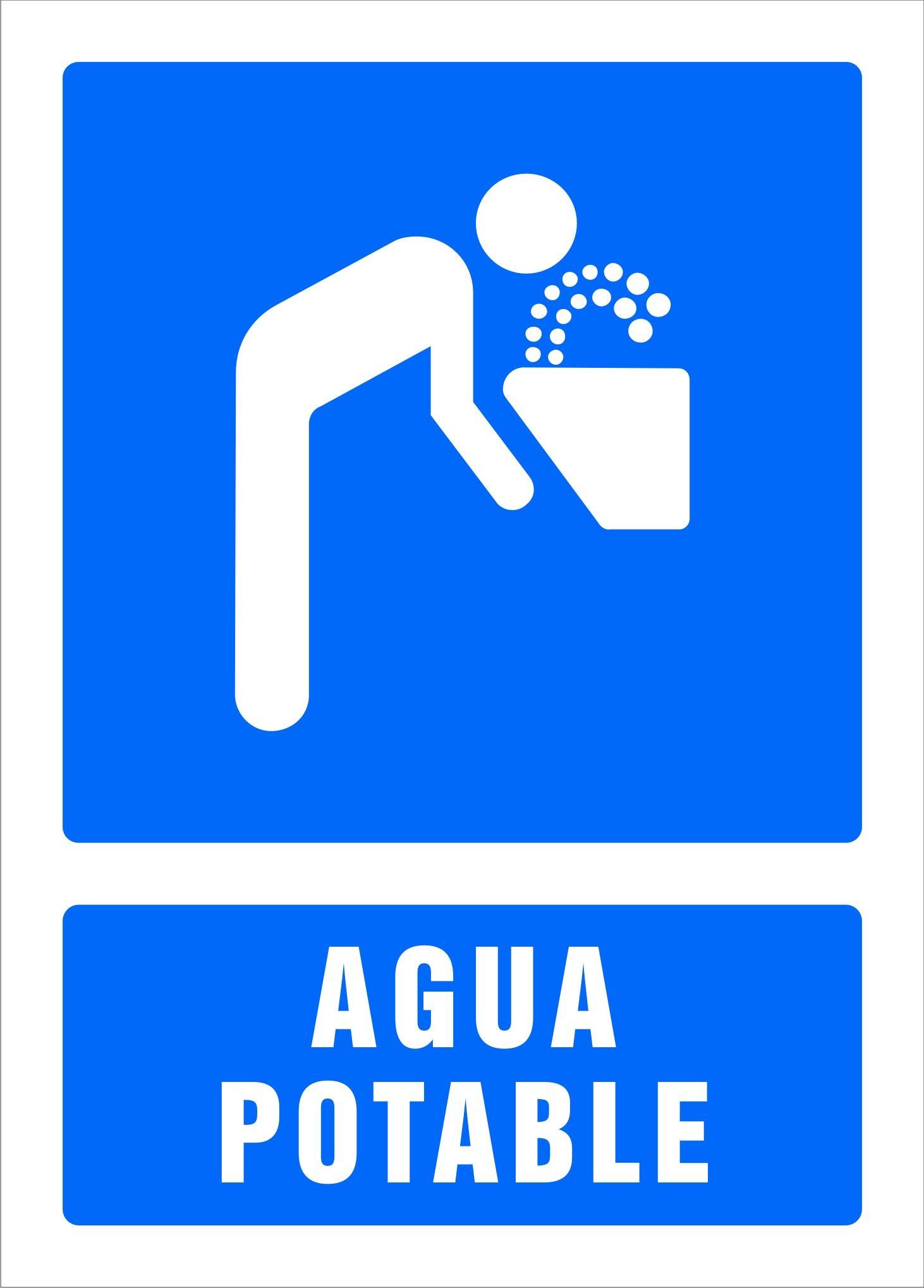 Senal Agua Potable School Projects School Letters
