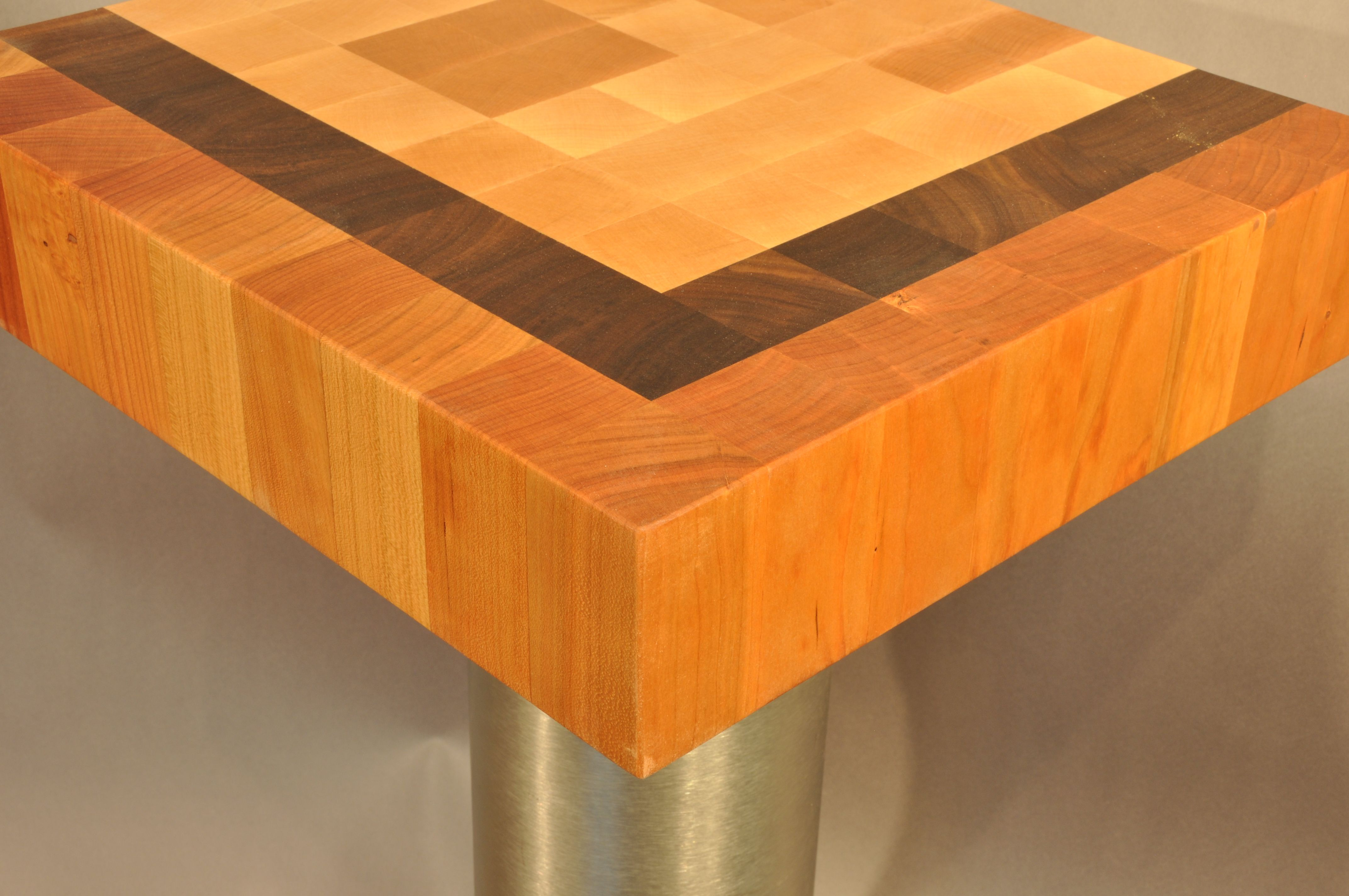 Patterned End Grain Wood Countertops Wood Countertops